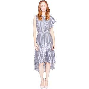 Rachel Roy Ruffle Shirt Dress